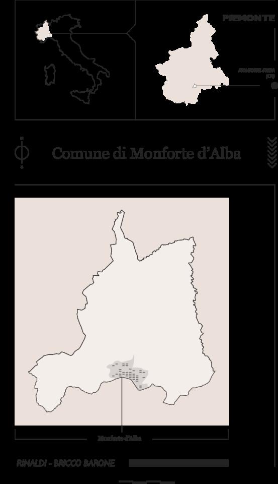 Vigneti a Monforte d'Alba - Rinaldi e Bricco Barone